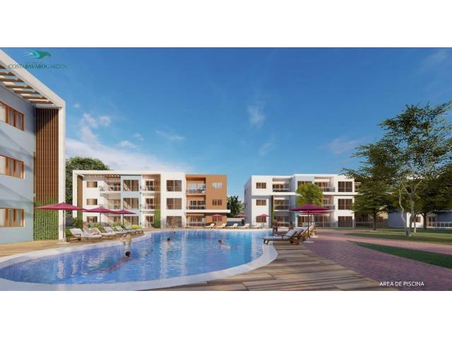 Apartment  for sale   in Punta Cana / Cap Cana  de 1, 2, 3 rooms and penthouse  with terraces